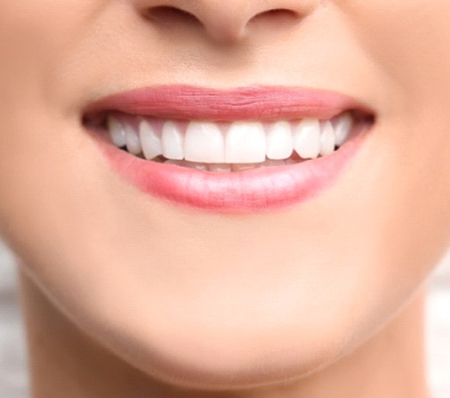 close up person with white smile